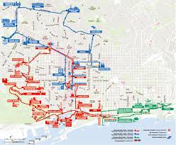 Lan Route Map by Barcelona Bus Turistic Hop On Hop Off Barcelona Tours U0026 Tickets