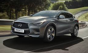 crossover cars 2017 2017 infiniti q30 2 0t sport awd first drive review car and driver