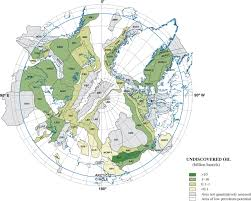 Arctic Circle Map Assessment Of Undiscovered Oil And Gas In The Arctic Science