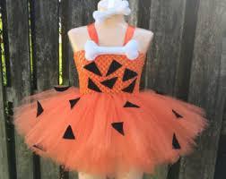 Baby Pebbles Halloween Costume Pebbles Tutu Etsy