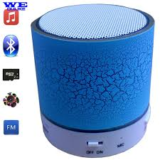 outdoor lights with bluetooth speakers led 7 colors flashing light bluetooth speaker mini portable wireless