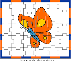 printable jigsaw puzzle for kids butterfly jigsaw