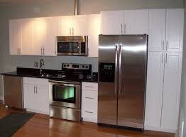 kitchen ideas with white cabinets and stainless steel appliances apartment kitchen cabinet ideas acacia cabinetworks