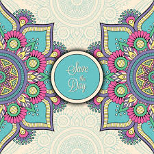 indian wedding invite indian wedding invitation vector free