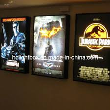 lighted movie poster frame china lighted movie poster frames movie poster light box display