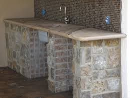 Stainless Steel Outdoor Countertops Brooks Custom by Kitchen Exterior Concrete Brooks Custom Images Quartz Countertops