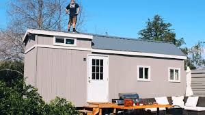 cute tiny house on wheels for sale in fallbrook california youtube
