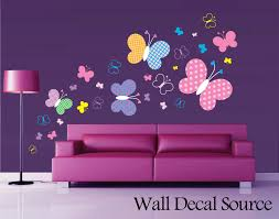 wall decoration butterfly wall decal lovely home decoration and