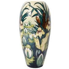 walter moorcroft art pottery u0027anemone u0027 vase pottery and pottery vase
