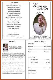 funeral program ideas funeral program exles sop exle