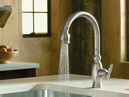 kitchen sinks with faucets vinnata kitchen sink faucet k 690 kohler