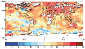 world meteorological org human induced climate change raising