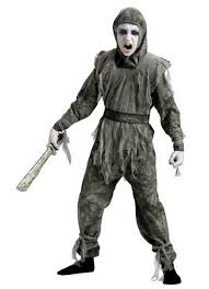 kids zombie ninja costume scary movie costumes pinterest