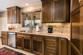 brown kitchen cabinets with backsplash subway tile kitchen backsplash ultimate guide designing idea