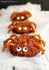 Spider Cakes For Halloween Chocolate Sugar Cookie Spiders Oxogoodcookies Delightful E Made