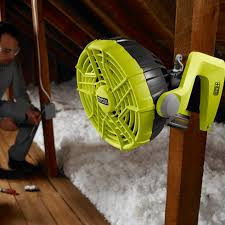 ryobi fan and battery 18v one portable fan ryobi tools