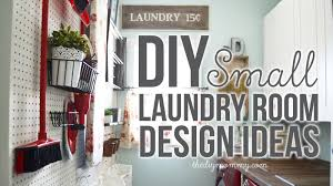 Laundry Room Decorating Accessories Diy Small Laundry Room Decor Organization Ideas