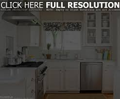 simple design small kitchen ideas with black color wooden
