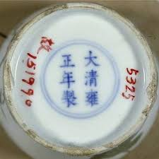 Chinese Markings On Vases Marks On Chinese Porcelain The Qing Dynasty 1644 1912 And