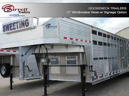 cattle trailer lighted sign aluminum gooseneck trailers for sale livestock trailers