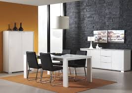 Black Metal Dining Room Chairs by Dining Room Modern Dining Sets In Black And White Theme With