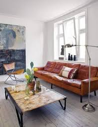 Decorating Ideas For Living Rooms With Brown Leather Furniture by Http Www Bryght Com Product 1008 Sven Charme Tan Sofa Objects