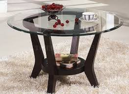 glass top coffee table and end tables amazing home design
