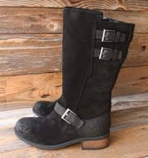 womens ugg everglayde boots ugg australia womens marsalis black suede wood clogs boots us 10