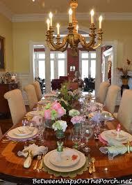 Beautiful Table Settings Marie U0027s Beautiful Spring Easter Table Setting