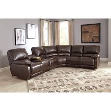 Sectional Sofas With Recliners And Cup Holders Power Reclining Sectional With Massage Heat And Cup Holder
