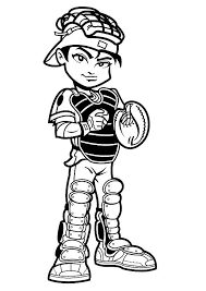 baseball coloring pages boys coloringstar