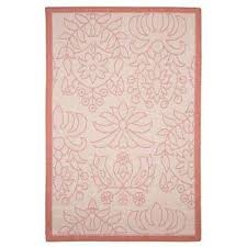 Pink Indoor Outdoor Rug Lavish Home Outdoor Rugs Rugs The Home Depot