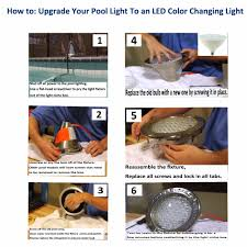 pool light fixture replacement led pool lighting systems inground lights patio replacement swimming