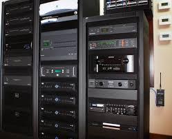 Audio Visual Rack Onas Media Systems Audiovisual I Videoconferencing I Design I