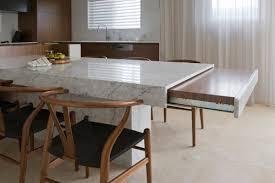 table de cuisine modulable un coin repas modulable dans une cuisine femme actuelle