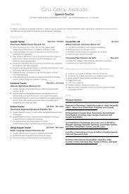 Princeton Resume Template Spanish Teacher Resume Samples Visualcv Resume Samples Database