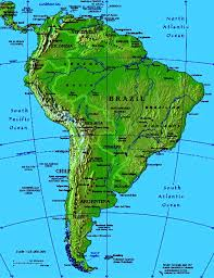 map us south maps of south america