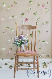 wedding backdrop silk flower curtain hanging flowers