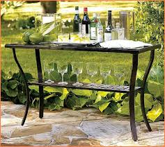 outdoor console table outdoor console table with storage home design ideas
