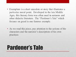 british literature entry task today we are reading the pardoner u0027s