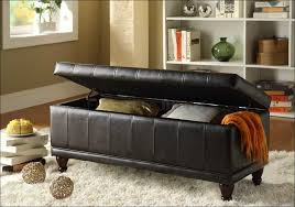 Leather Storage Ottoman Bench Bedroom Awesome Amazing Of Storage Ottoman Bench With Beautiful