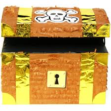 treasure chest pinata gold birthdayexpress com