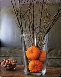 Branches In A Vase 65 Awesome Pumpkin Centerpieces For Fall And Halloween Table