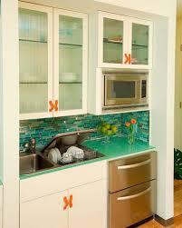 interior turquoise tile backsplash kitchen tile backsplash