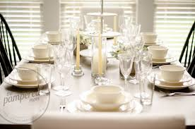 Setting A Table by The Pampered Mom July 2015
