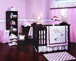 Pink And Black Polka Dot Bedding Baby Nursery Outstanding Baby Nursery Room Decoration Using Furry