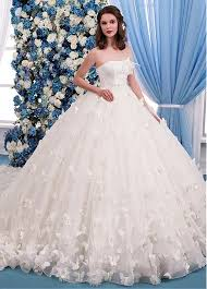 buy wedding dresses buy discount gorgeous lace tulle strapless neckline gown