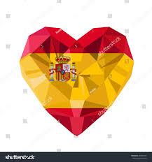 vector crystal gem jewelry spanish heart stock vector 460605190