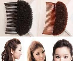 bump it 1pc black brown charming pompadour fringe bump it up volume