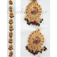 bharatanatyam hair accessories jadai billai braid indian false hair decorations bharatanatyam
